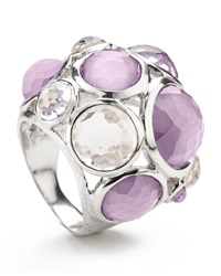 Ippolita Wonderland Crystal Party Ring Lilac Multi