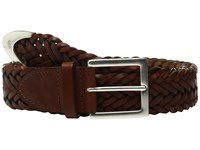 Rag And Bone Braided Belt Saddle Brown