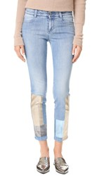 Stella Mccartney Skinny Ankle Grazer Jeans Multi