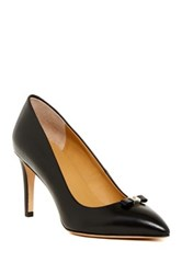 Marc By Marc Jacobs Pointed Toe Bow Pump Black