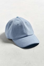 Urban Outfitters Uo Suede Baseball Hat Sky