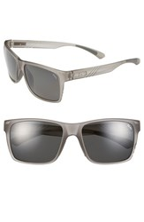 Women's Zeal Optics 'Brewer' 57Mm Polarized Plant Based Sunglasses Brewer Granite Grey