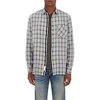 Rag And Bone Men's Beach Shirt Grey