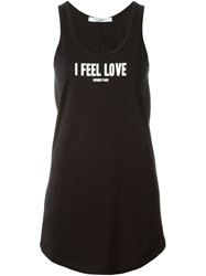 Givenchy I Feel Love Tank Top Black