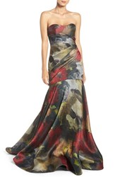 Pamella Pamella Roland Women's Strapless Mermaid Gown