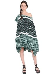 Yvonne S Printed Light Cotton Voile Dress