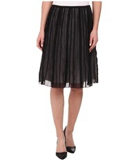 Nic Zoe Batiste Flirt Skirt Black Onyx Women's Skirt