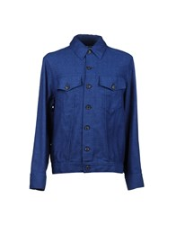 Umit Benan Coats And Jackets Jackets Men Blue