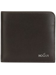 Hogan Billfold Wallet Brown