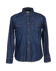 Current Elliott Denim Shirts Blue
