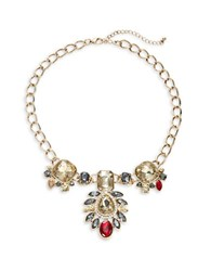 Design Lab Lord And Taylor Statement Drop Necklace Gold