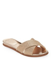 Vince Camuto Engle Glitter Sandals Gold