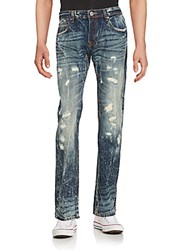 Cult Of Individuality Distressed Slim Fit Jeans Root