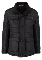 Bugatti Light Jacket Schwarz Black