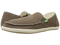 Sanuk Rounder Hobo Hemp Brown Hemp Men's Slip On Shoes