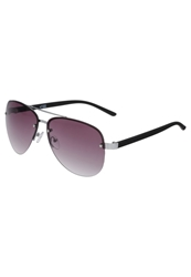 Your Turn Sunglasses Matt Black Tips Silver