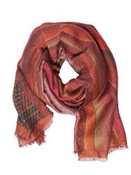 Etro Wool And Silk Jacquard Scarf