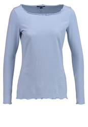 Comma Long Sleeved Top Light Blue