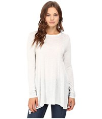 Culture Phit Fara Long Sleeve Top Oyster Women's Sweater Beige