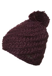 Barts Chani Hat Prune Purple