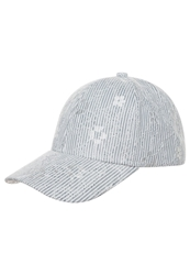 S.Oliver Cap Grey Black Stripes White