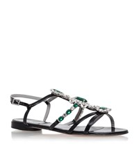 Gina Birdie Jewelled Sandals Female Black