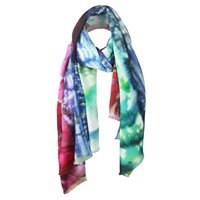 Unpaired The Lakeside Ladies Long Silk Scarf