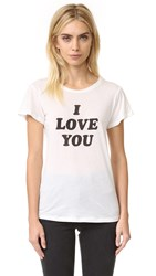 A Fine Line 'I Love You Sometimes' Tee White