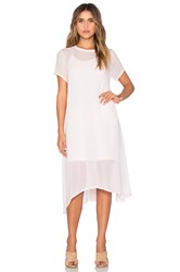 Lacausa Factory Dress With Racer Slip Pink