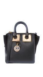 Sophie Hulme Small North South Tote Black