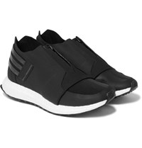 Y 3 X Ray Mesh Trimmed Neoprene Sneakers Black