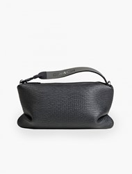 Cote And Ciel Black Embossed Lagoon Spa Pouch