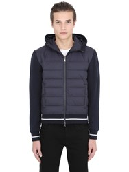 Moncler Cotton And Nylon Down Jacket