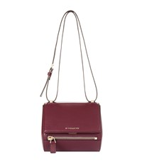 Givenchy Mini Pandora Zip Box Bag Female Dark Purple