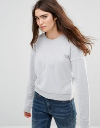 Cheap Monday Mirage Sweatshirt Grey Melange