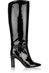 Tamara Mellon Polo Patent Leather Knee Boots