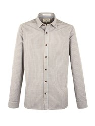 Racing Green Milnes Multi Check Long Sleeve Shirt Olive