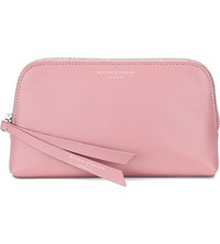 Aspinal Of London Essential Leather Cosmetic Case Dusky Pink