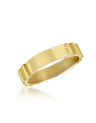 Torrini Stripes 18K Yellow Gold Band Ring