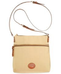 Dooney And Bourke Nylon Crossbody Khaki