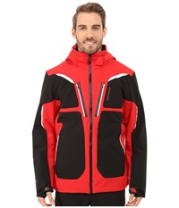 Obermeyer Spartan Jacket True Red Men's Coat