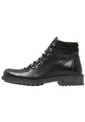 Karl Lagerfeld Laceup Boots Black