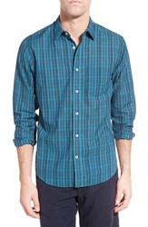 Men's Relwen 'Airtex Madras' Classic Fit Plaid Sport Shirt