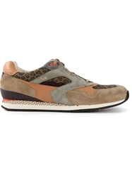 Paul Smith Leopard Print Sneakers Nude And Neutrals