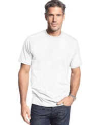 John Ashford Big And Tall Short Sleeve Crew Neck T Shirt Bright White