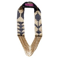 Fiona Paxton Beaded Tribal Necklaces Multi