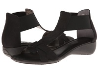 The Flexx Band Together Black Nubuck Women's Sandals