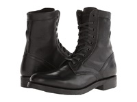 Frye Engineer Tall Lace Black Oiled Leather Men's Work Lace Up Boots