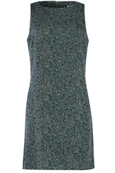 Alice And You Sequin Sleeveless Shift Dress Green