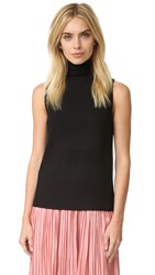 Club Monaco Vancy Top Soot Black